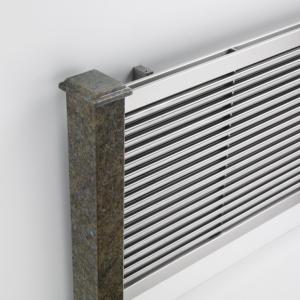 design heizkörper horizontal wohnzimmer wohnraum heizung nessa edelstahl