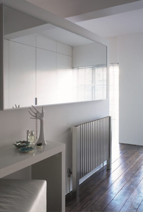 horizontale rvs radiator