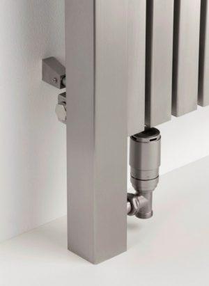 horizontaler design heizkörper wohnzimmer wohnraum heizung aperto edelstahl