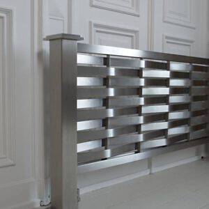 design heizkörper horizontal wohnzimmer wohnraum heizung dalga edelstahl