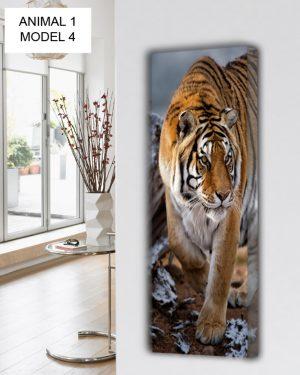 vertikaler design heizkörper küche wohnzimmer wohnraum heizung animals