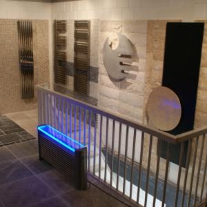 design heizkörper edelstahl wohnzimmer wohnraum heizung monti