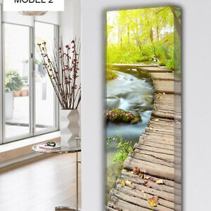 design heizkörper vertikal küche wohnzimmer wohnraum heizung natur