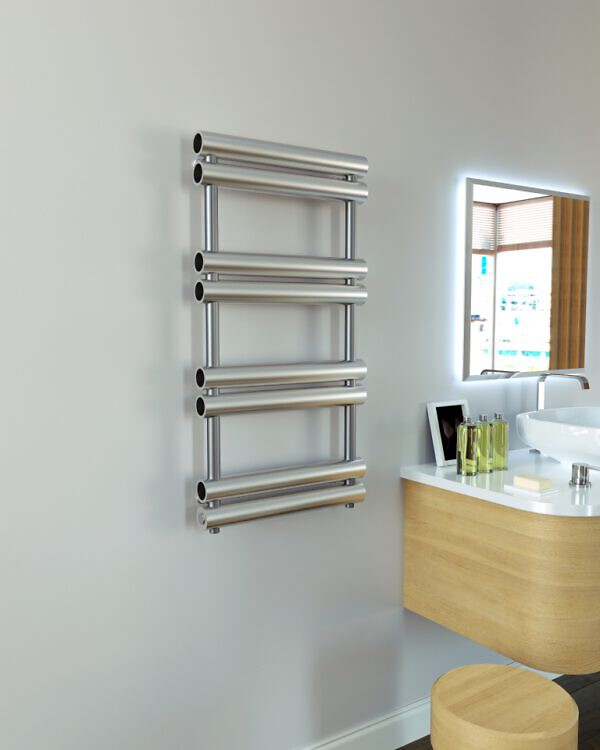 badkamer radiator rvs turbo