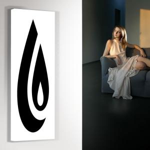 vertikaler design heizkörper küche wohnzimmer wohnraum heizung aine
