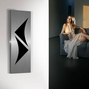 vertikaler design heizkörper küche wohnzimmer wohnraum heizung amon