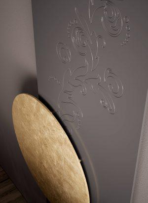 vertikaler design heizkörper apollo küche wohnzimmer heizung