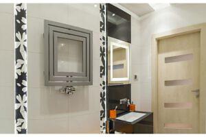 Badezimmer design heizkörper art