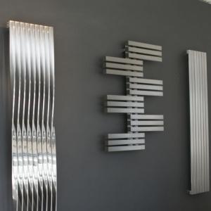 Edelstahl design heizkörper vertikal canti küche wohnzimmer wohnraum heizung