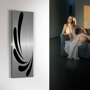 vertikaler design heizkörper küche wohnzimmer wohnraum heizung carya