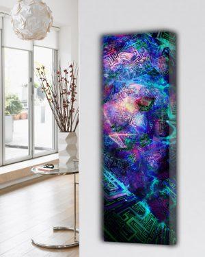 kunstzinnige design radiator woonkamer keuken