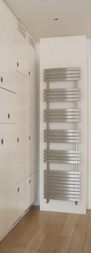 Edelstahl badezimmer design heizkörper eatab bad heizung