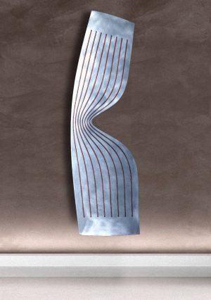 vertikaler design heizkörper fantasia wohnzimmer heizung