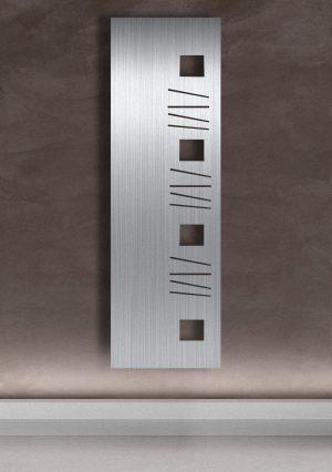 vertikaler design heizkörper gino küche wohnzimmer heizung