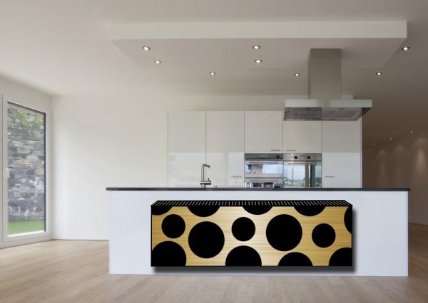 design heizkörper horizontal wohnzimmer wohnraum heizung leopar