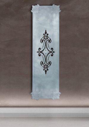 vertikaler design heizkörper minto wohnzimmer heizung