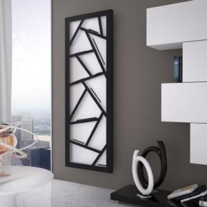 vertikaler design heizkörper palte küche wohnraum wohnzimmer heizung