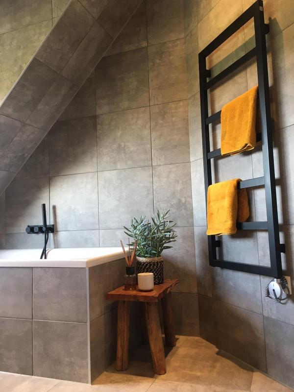 elektrische badezimmer heizkörper schwarz