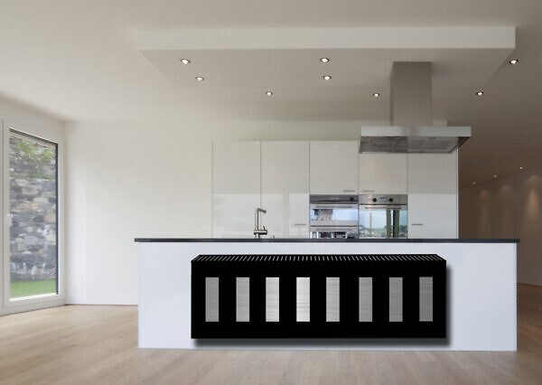 horizontaler design heizkörper wohnzimmer wohnraum heizung piano