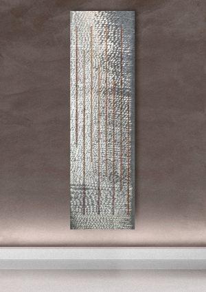 vertikaler design heizkörper raino küche wohnraum wohnzimmer heizung