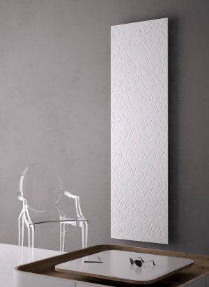 vertikaler design heizkörper santi küche wohnzimmer heizung