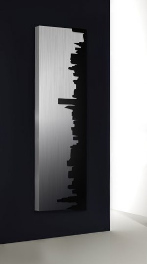 vertikaler design heizkörper skyline küche wohnzimmer wohnraum heizung