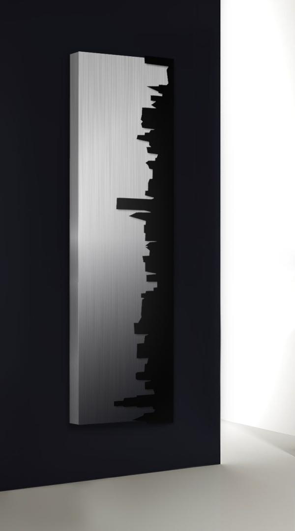 design heizkörper vertikal skyline küche wohnzimmer wohnraum heizung