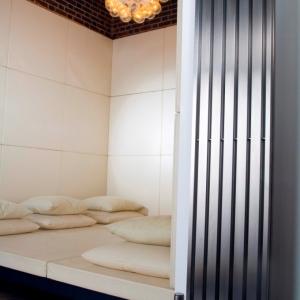Edelstahl design heizkörper vertikal stato küche wohnzimmer wohnraum heizung