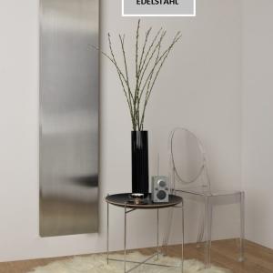 design heizkörper vertikal küche wohnzimmer wohnraum heizung stilo