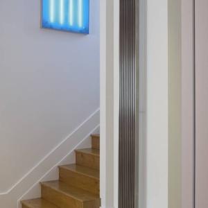 Edelstahl design heizkörper vertikal talano küche wohnzimmer wohnraum heizung