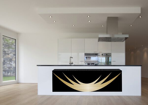 horizontale design radiator woonkamer