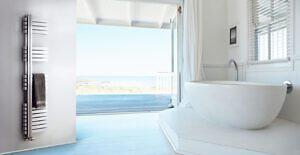 Edelstahl badezimmer design heizkörper Tondra bad heizung