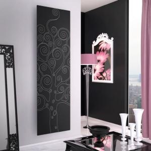 design heizkörper vertikal tree küche wohnzimmer heizung