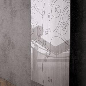 vertikaler design heizkörper tree küche wohnzimmer heizung