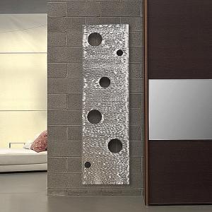 vertikaler design heizkörper tremso wohnzimmer heizung