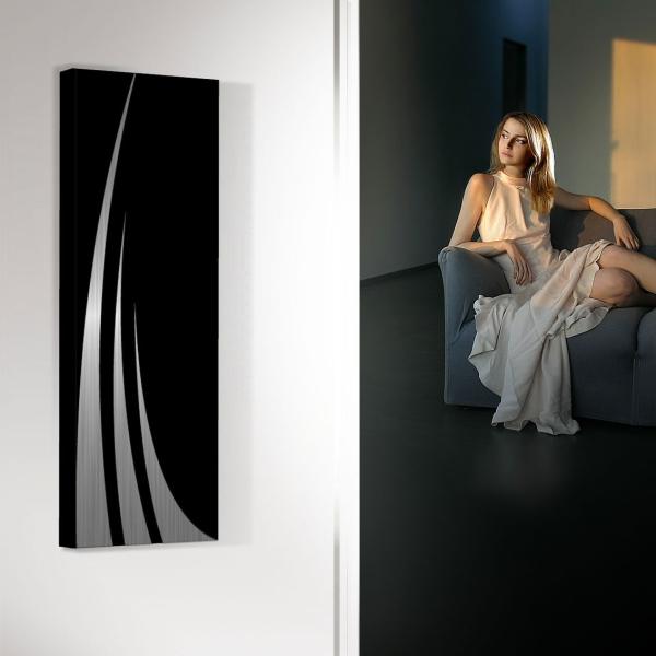 design heizkörper vertikal küche wohnzimmer wohnraum heizung unda