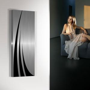 vertikaler design heizkörper küche wohnzimmer wohnraum heizung unda