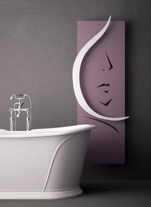 vertikaler design heizkörper venus küche wohnzimmer heizung