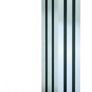 Edelstahl design heizkörper vertikal vitan küche wohnzimmer wohnraum heizung