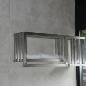 Edelstahl badezimmer design heizkörper Donna