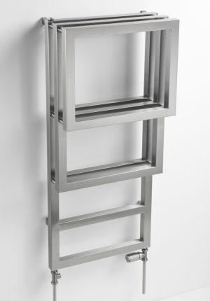 Edelstahl badezimmer design heizkörper Elian bad heizung