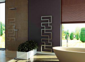 stijlvolle badkamer radiator