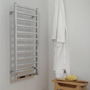 Edelstahl badezimmer design heizkörper pragma